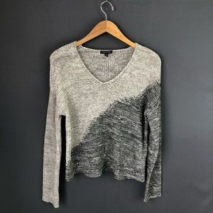 Eileen Fisher Boxy Contrast Sweater